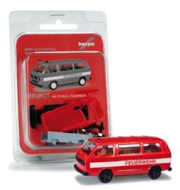 VW T 3 Feuerwehr, (Minikit) Herpa