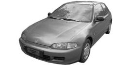 Honda Civic 1992-1995 3 deurs