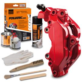Foliatec Remklauwlakset - racing rosso (ral 3002)