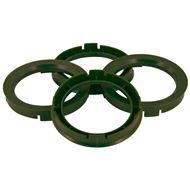 Centreer ring set 67.1->65.1mm Oliv Green