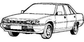 Mitsubishi Galant 1984-1988 E10
