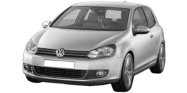 Volkswagen Golf 6 2009-2013