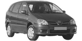 Nissan Almera Tino 8/2000-2006