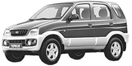Daihatsu Terios  -2005