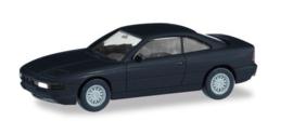 BMW 850i (E31), zwart (Minikit)