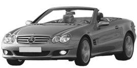 Mercedes SL R230 2001-2012