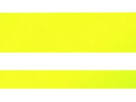 Sierbies 12,5mm Fluorescerende geel