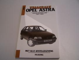 vraagbaak Opel Astra  diesel   1991-1993