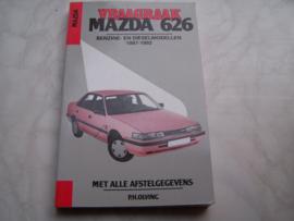 Vraagbaak Mazda 626 1987-1992