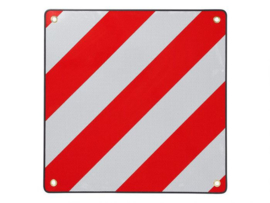 Markeringsbord Metaal 50x50cm ITALIE