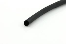 Krimpkous 4.8-2.4mm zwart 2:1