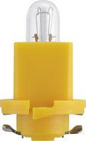 Lamp 1,2W Bax Geel