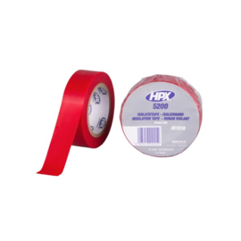 Isolation Tape Rood 19 mm x 10 Meter