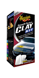 SMOOTH SURFACE CLAY KIT 473ML, 2*80G