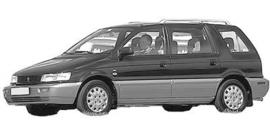Mitsubishi Space Wagon 1991-1998