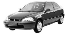 Honda Civic 1995-2001 3/4 deurs
