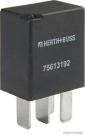Mini Relais4 polig met weerstand 25Amp
