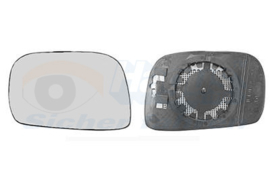 Spiegelglas OPEL AGILA  tot 2007 Links