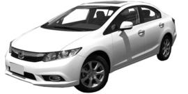 Honda Civic 2011-2017 4 deurs