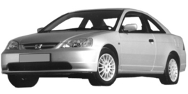 Honda Civic Coupe 2001-2005