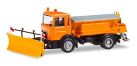 MAN F8 Winterdienst, oranje