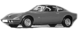 Opel GT 1967-1974