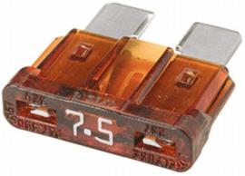Steekzekering 7,5 Amp