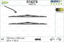 Ruitenwisserset Volkswagen Sharan tot 05/2001