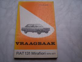 Vraagbaak Fiat 131 Mirafiori 1975-1977