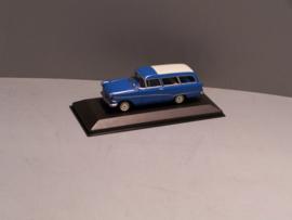 Opel Rekord P1 Caravan blauw