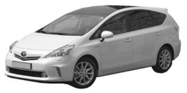 Toyota Prius+ 03/2012-12/2014