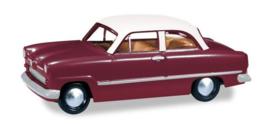 Ford Taunus Weltkugel, rood