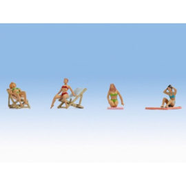 Zonnebadende Figuren Noch
