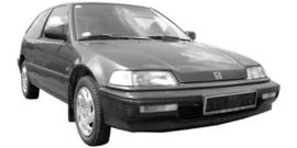 Honda Civic 1988-1991 3 deurs