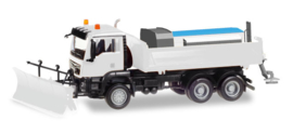 Herpa MiniKit: MAN TGS M 6x6 winter services, white