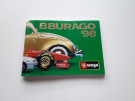 Minicatalogus Bburago 1998