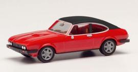 Ford Capri II, rood