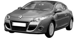 Renault Megane Coupe vanaf 2009+