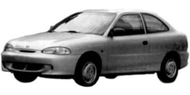 Hyundai Accent- Excel 1995-1997 3 deurs