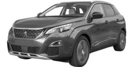 Peugeot 3008  vanaf 10/2016-