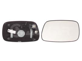 Spiegel glas Toyota Corolla 2002 tot 2004 Links