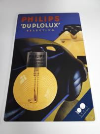 Reclamebord Philips Lampen Duplolux