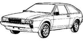 Volkswagen Scirocco 1981- 07/1992