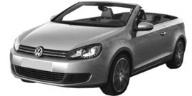 Volkswagen Golf Cabrio vanaf 11/2011+