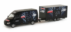 """Mercedes-Benz Sprinter with box trailer """"Fulda"""""""