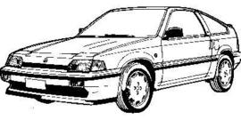 Honda CRX 1984-1987