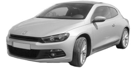 Volkswagen Scirocco 09/2008 -2014