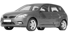 Kia Cee'd / Pro Cee'd 2009-2012