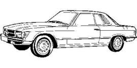 Mercedes SL W107 1971-1989