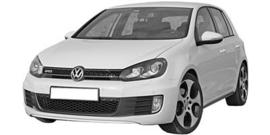 Volkswagen Golf  6 GTD/GTI  2009-2012